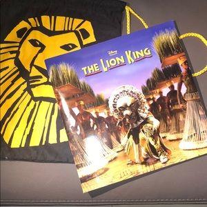 Disney's Lion King Program with Bag